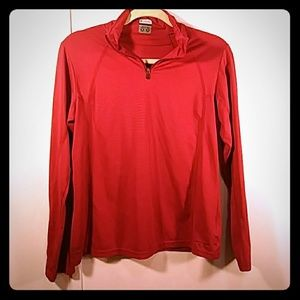 Columbia Long-Sleeve Athletic Pull-Over